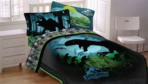 toddler boy bedroom sets jurassic bedding dinosaur comforter sheet set
