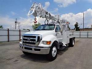 Ford F750 Digger Derrick Trucks For Sale Used Trucks On