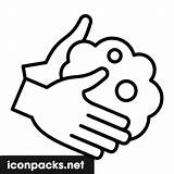 Washing Hands Svg Symbol Icon sketch template