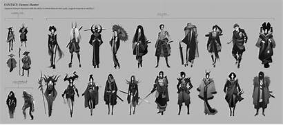Character Thumbnail Concept Artstation Process Shapes Characters