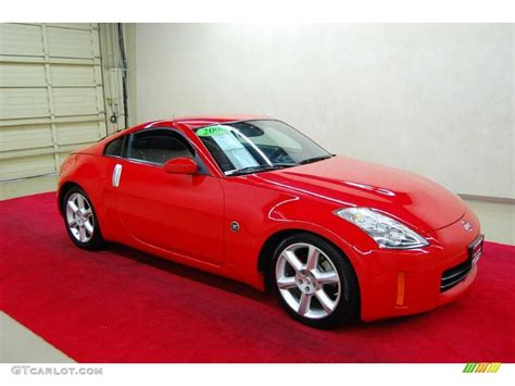 nissan coupe 350z 2008 nogaro red nissan 350z touring coupe 46869523