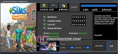 sims freeplay cheat hacker  final version