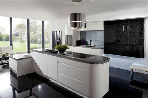 cuisine blanche design la cuisine blanche et en 49 idées déco intéressantes