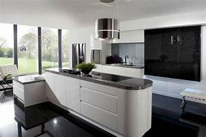 La cuisine blanche et noire en 49 idees deco interessantes for Idee deco cuisine avec cuisine noir et blanc