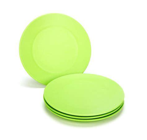 designapplause green eats plates  kids green toys