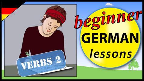 German Verbs 2  Beginner German Lessons For Children Youtube
