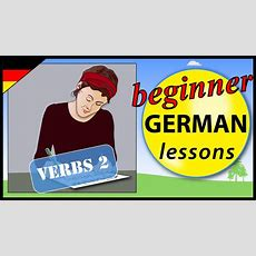 German Verbs 2  Beginner German Lessons For Children Youtube