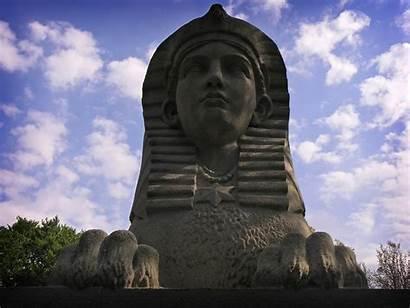 Sphinx Desktop Wallpapersafari Statue Memorial War