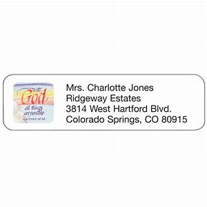 religious address labels personalized address labels With christian address labels
