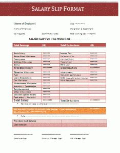 salary certificate format template