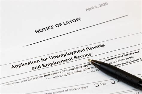 unemployment benefits covid application layoff notice insurance job losses covering pay coronavirus economy impact stay paperwork order know things wtop