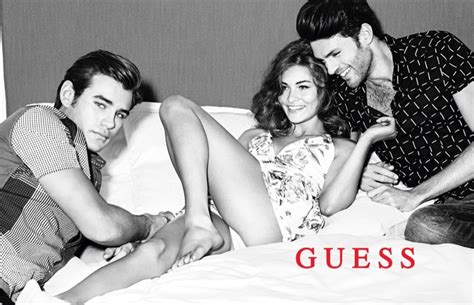guess fall winter  ad campaign