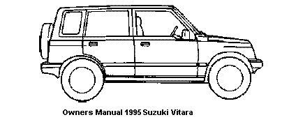 free car repair manuals 1995 suzuki sidekick on board diagnostic system owners manual 1995 suzuki vitara called also suzuki sidekick and suzuki escudo