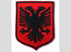 Albanian Shield Country Flag Albania Embroidered Patch