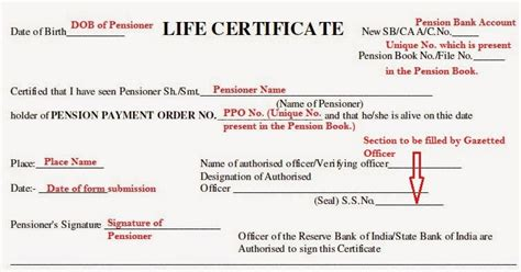 application form for pensioners identity card how to fill pensioners life certificate form for retired