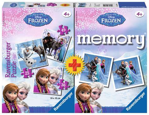 frozen  puzzles memory ravensburger   pieces