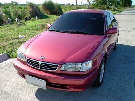Unders 2000 Toyota Corolla Specs, Photos, Modification