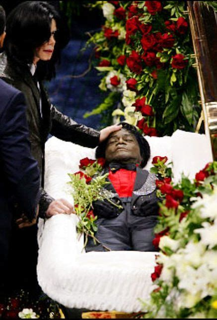 michael jackson  james browns funeral james brown