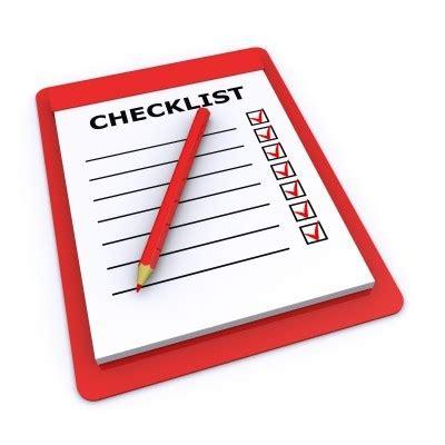 Checklist Clipart Checklist Clip