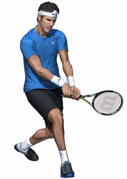 Tennis Sport Player Virtua Transparent Background Screens