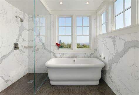 salle de bain marbre 50 exemples d am 233 nagement
