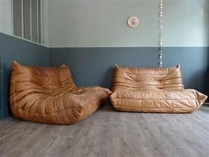 17 meilleures idees a propos de decor de canape en cuir With tapis de course avec canapé lit ligne roset