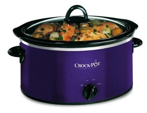 crock pot 174 3 5l aubergine cooker ckpscv400d