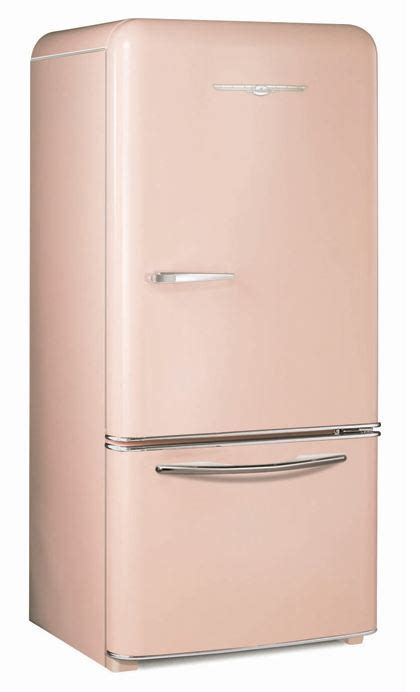 cabinet depth refrigerator retro refrigerators 7 places to get them in pink and