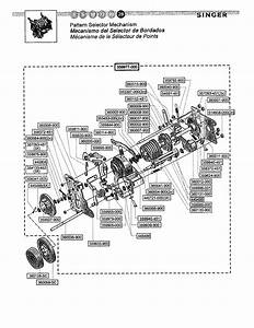 Singer 4220 Mechanical Sewing Machine Parts