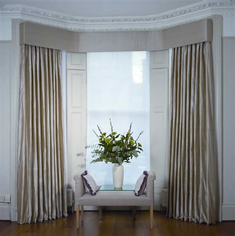 curtains and blinds for bay windows dressing bay windows