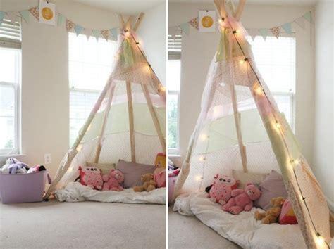 tuto deco chambre ado comment fabriquer un tipi 60 idées pour une tente
