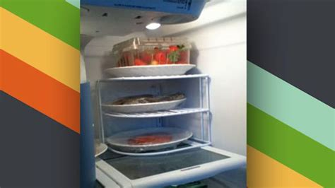 cing kitchen organizer use a plate organizer in the refrigerator to add 1973