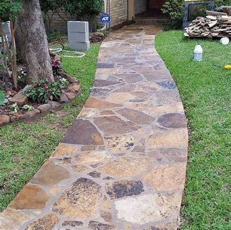 flagstone path ideas top 28 flagstone path ideas flagstone walkway outdoor life pinterest flagstone pathway for