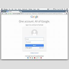 How To Create A New Google Account For Your Youtube