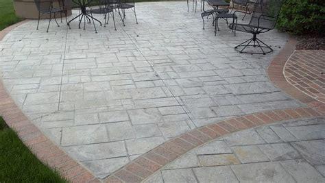 Concrete Stamping   Schroder Concrete   Omaha, NE