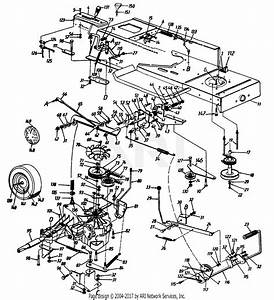 Mtd 136a694f401  1996  Parts Diagram For Transmission Linkage
