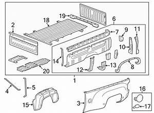 Chevrolet Silverado 2500 Hd Truck Bed Panel Reinforcement