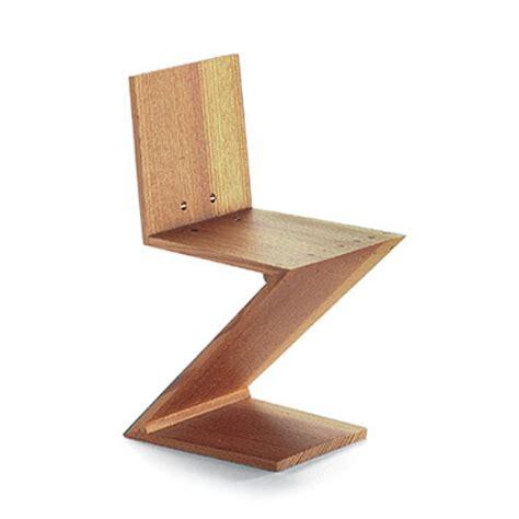 chaise rietveld vitra miniature zig zag stoel chair by gerrit rietveld