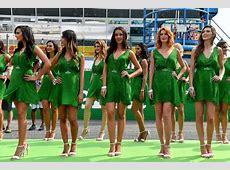 Formel 1 Girls beim Italien GP Die MonzaMädels Mamma