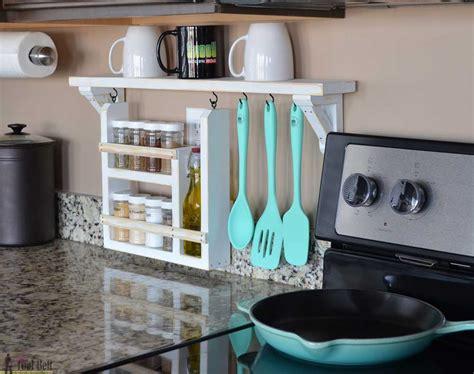 kitchen countertop storage kitchen backsplash shelf and organizer tool belt 1014