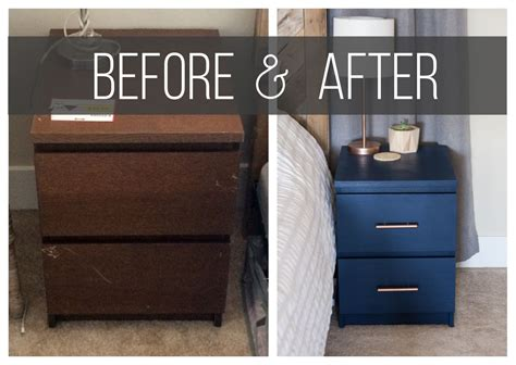 Nightstand Hack by Malm Nightstand Hack Kreating Homes