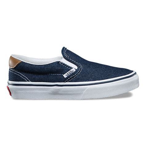 denim c l slip on 59 shop at vans