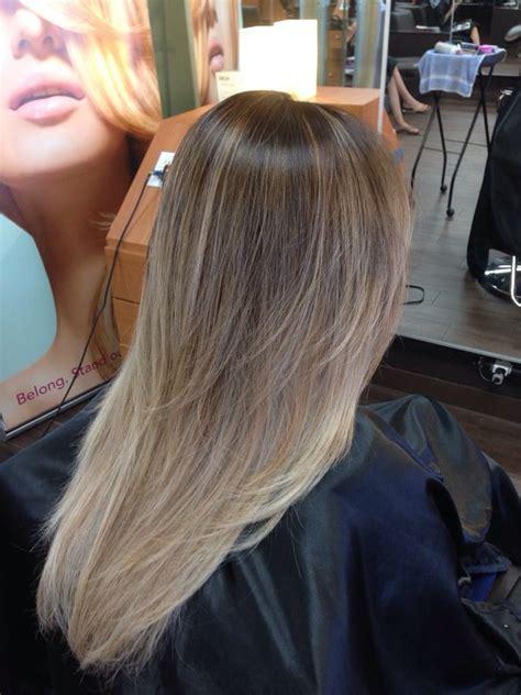 Ash blonde brown balayage ombré   Yelp