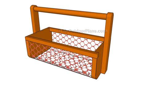 basket plans myoutdoorplans  woodworking plans