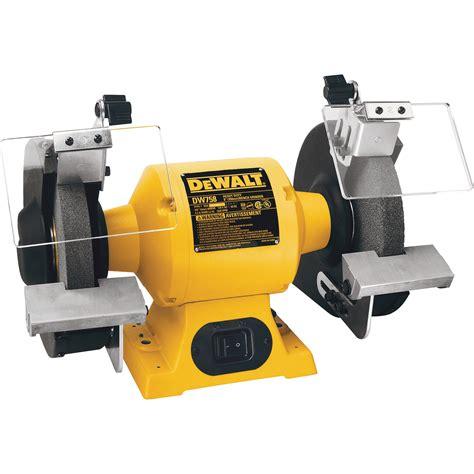 dewalt heavy duty bench grinder   hp model