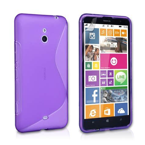 caseflex nokia lumia 1320 silicone gel s line purple