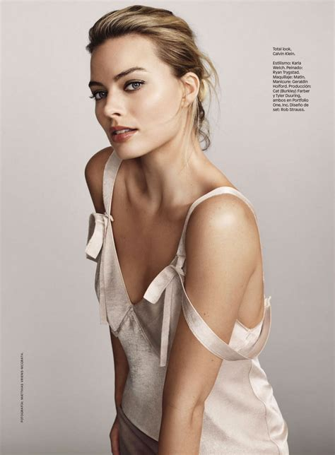 Margot Robbie Glamour Mexico August 2016 Issue