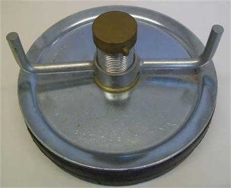 Pressed Steel Drain Plug 200mm or 8 inch   Plumbers Mate Ltd