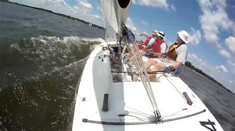 E Scow Racing by E Scow Racing At Caryle Lake