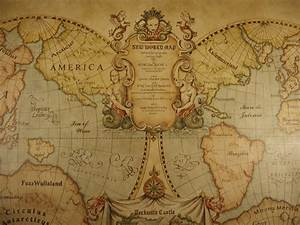old world map mural With kitchen cabinets lowes with antique world map wall art